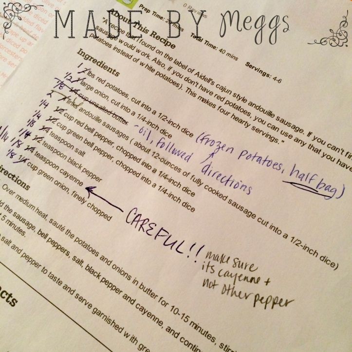 What makes a recipe VIP - More at MadeByMeggs(dot)com (2)