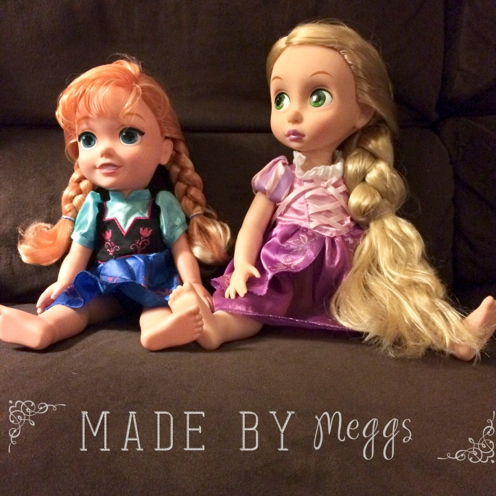 {DIY} Quick Fix for Tangled Doll Hair - More at MadeByMeggsDOTcom (1)