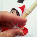 4 Elf on the Shelf Bendy &Sticky Revamp - More at MadeByMeggsDOTcom