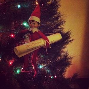 Night 01- Elf on the Shelf -More at MadeByMeggsDOTcom
