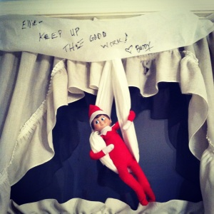 Night 04- Elf on the Shelf -More at MadeByMeggsDOTcom