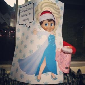 Night 05- Elf on the Shelf -More at MadeByMeggsDOTcom