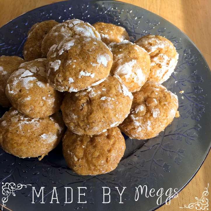 Pumpkin Muffin Cookies - More at MadeByMeggsDOTcom 4
