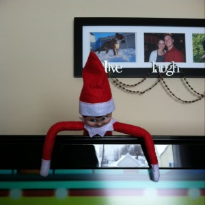 Night 11- Elf on the Shelf -More at MadeByMeggsDOTcom