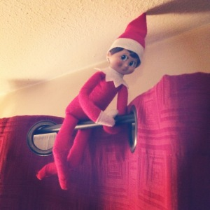 Night 12- Elf on the Shelf -More at MadeByMeggsDOTcom