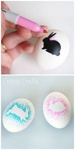 Sharpie Decorated Eggs